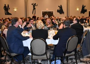 Guests at the 2017 Catholic Charities New Hampshire Mardi Gras Gala.