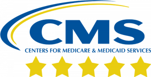 cms five-star rating logo