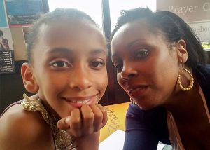 Kalila and her daughter Tanya were assisted by a life plane through Catholic Charities New Hampshire.