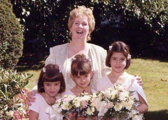 Rita along with her sisters and mother, Karen.