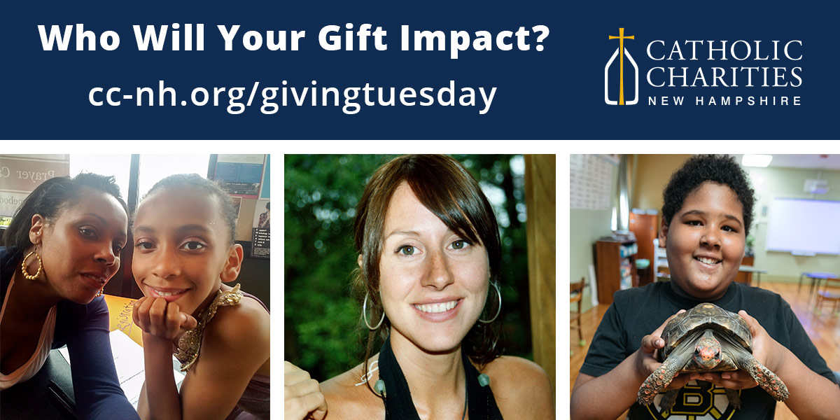 Who Will Your Giving Tuesday Gift Impact?