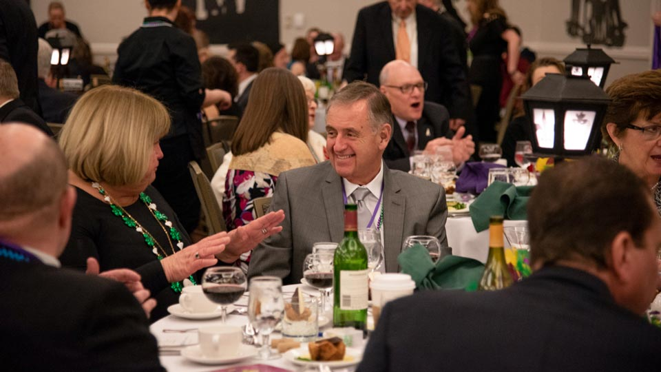 Guests at the CCNH 14th Annual Mardi Gras Gala