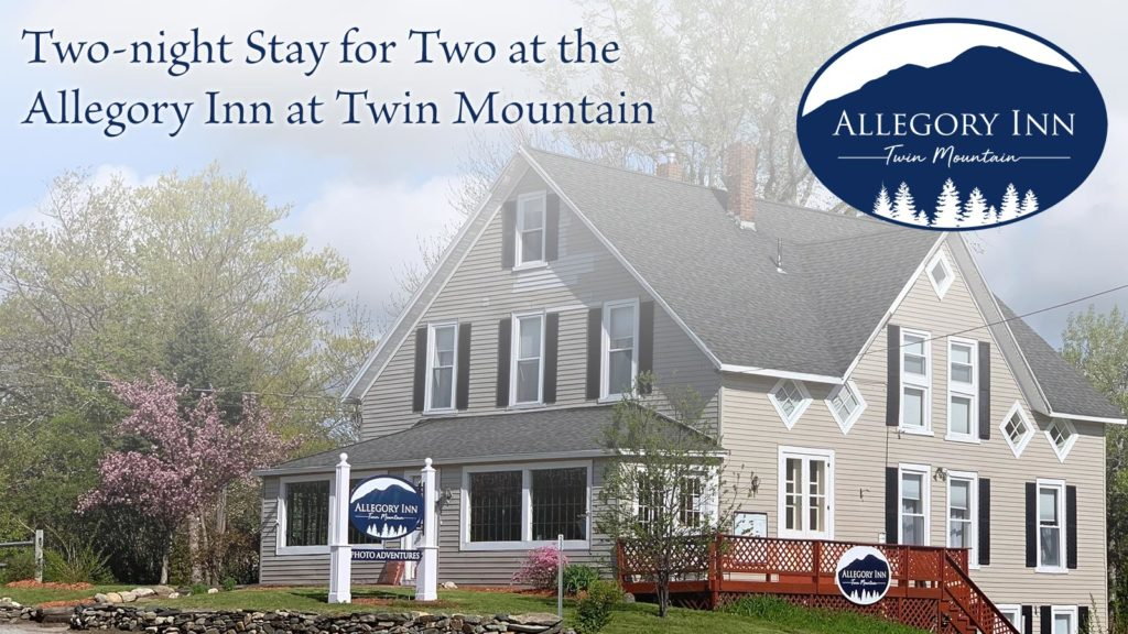 Two-night stay for two at the Allegory Inn at Twin Mountain.