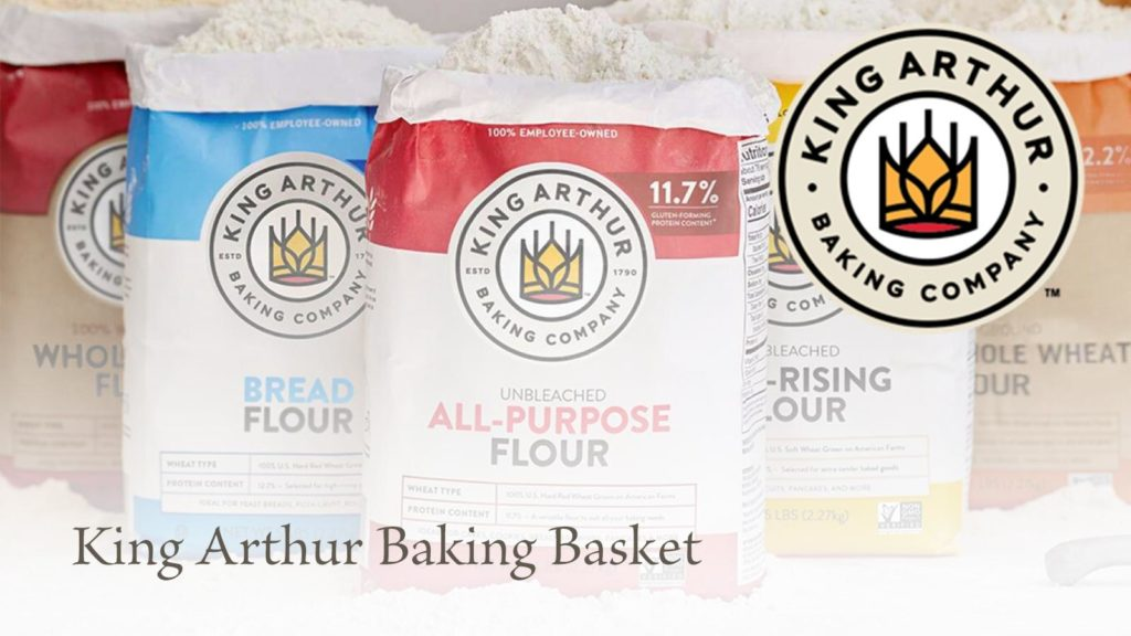 King Arthur Baking Company baking basket.