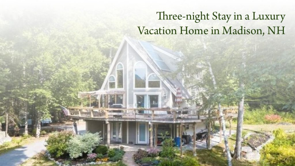 Three-night stay in a luxury vacation home in Madison, NH.