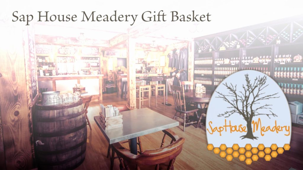 Sap House Meadery gift basket.